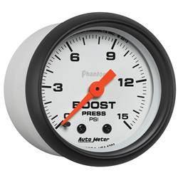 AUTOMETER PRODUCTS - BOOST GAUGE 2 1/16 IN 15PSI MECHANICAL