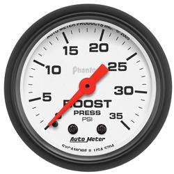 AUTOMETER PRODUCTS - BOOST GAUGE  2 1/16 IN 35PSI MECHANICAL