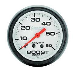 AUTOMETER PRODUCTS - BOOST GAUGE 2 1/16 IN 60PSI MECHANICAL