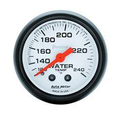 AUTOMETER PRODUCTS - WATER TEMP GAUGE  2 1/16 IN 120-240DEG F MECHANICAL