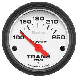 AUTOMETER PRODUCTS - TRANSMISSION TEMP GAUGE  2 1/16 IN 100-250DEG F ELECTRIC
