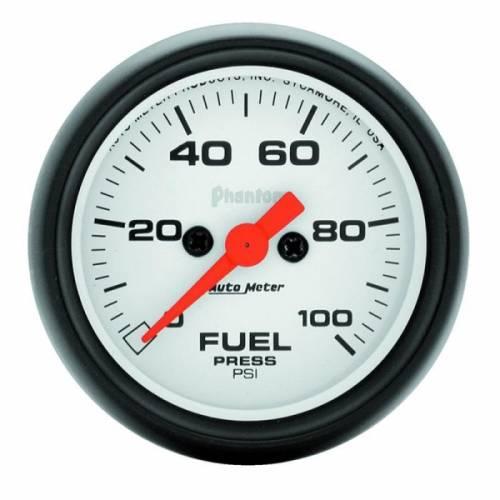 AUTOMETER PRODUCTS - FUEL PRESSURE GAUGE 2 1/16 IN 100PSI DIGITAL STEPPER MOTOR PHANTOM