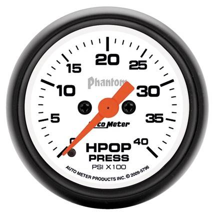 AUTOMETER PRODUCTS - HPOP GAUGE  4K PSI DIRECT FIT 94-07 FORD SUPERDUTY 7.3L 6.0L