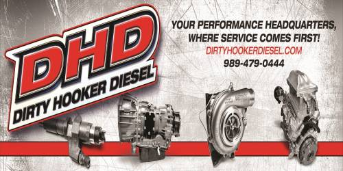 Dirty Hooker Diesel - DHD 3'x6' Official UCC2019 Vinyl Banner