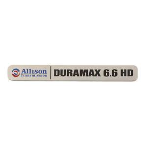 GM - GM Duramax Allison HD Badge LML Trucks