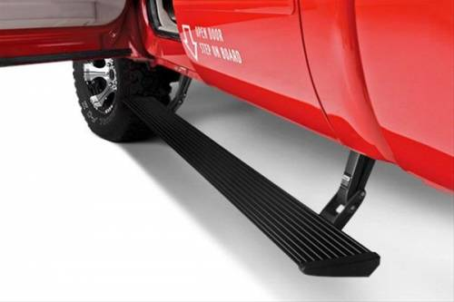 AMP RESEARCH - Amp Research PowerStep Running Boards 2017-2019 Silverado & Sierra 2500/3500 L5P Diesel Double & Crew Cabs