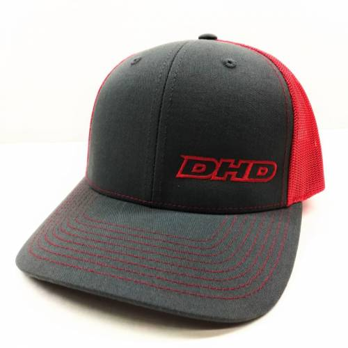 Dirty Hooker Diesel - 061-098 DHD Red Offset Logo Trucker Hat