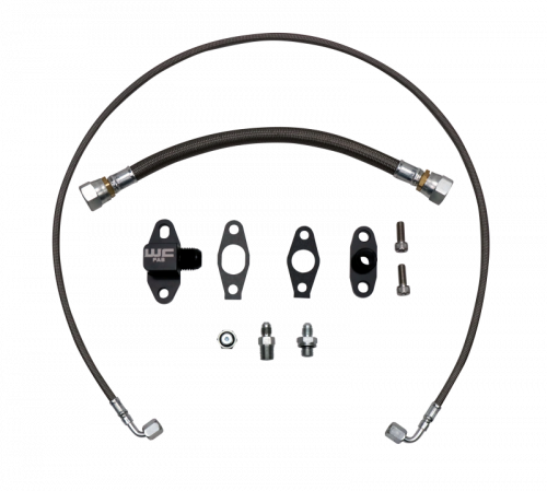 WCFAB - WCF100382 Oil Line Kit- Single Turbo- Duramax