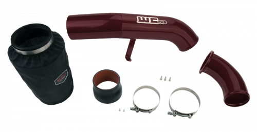 """WCFAB - WCF100636 LB7 Cold Air Intake Kit- 4"""" Stage 2 w/Intake Horn"""