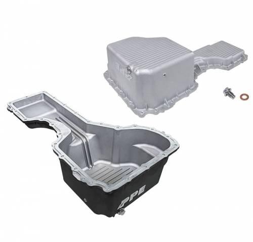 PPE - PPE 1140530xx Deep-Capacity Cast Aluminum L5P Oil Pan