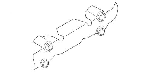 GM - GM 97333893 Heat Shield LH Exhaust Manifold