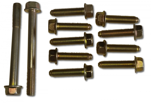 Dirty Hooker Diesel - DHD 800-301 Duramax Front Cover Bolt Kit - 2011-2016 LML