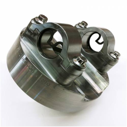 Dirty Hooker Diesel - DHD 030-654 RockSlider Billet Off Road Yoke 1550 Series 10.5 14 Bolt GM Rear Axle