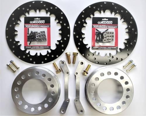 Innovative Machining Solutions - IMS Lightweight Wilwood 6 Piston Front Brake Kit 01-10 GM 8 Lug