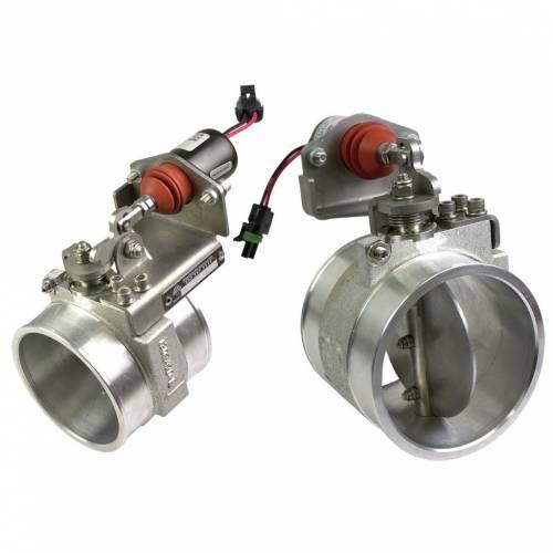 BD Diesel - BD 1036710-M (Manual Control) Positive Air Shut Off Air Knife 2001-2004 LB7 Duramax
