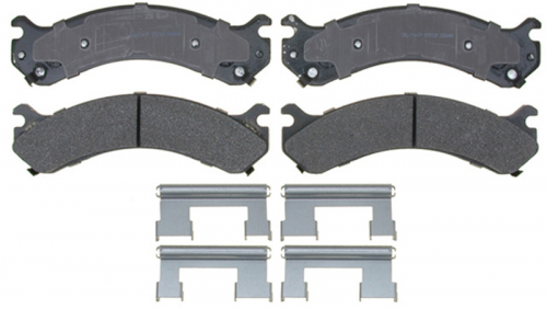 AC Delco - ACDelco 17D909MH Semi-Metallic Rear Brake Pad Set 01-10 DRW 2500/3500
