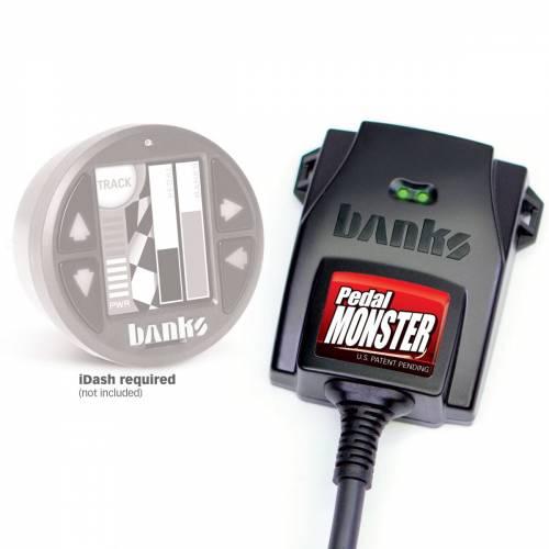 Banks Power - Banks 64321 Pedal Monster Add on for i-Dash 2007.5-2019 LMM LML L5P Duramax