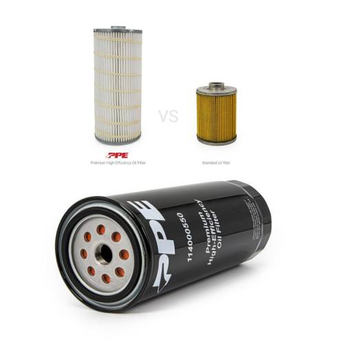 PPE - PPE 114000550 PF2232 High Efficiency Duramax Oil Filter 2001-2019 6.6L