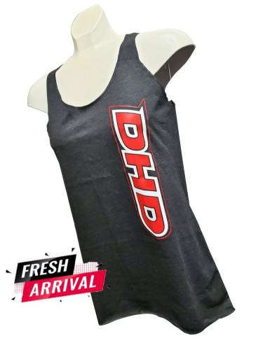 Dirty Hooker Diesel - Ladies DHD Next Level Relaxed Fit Racerback Tank