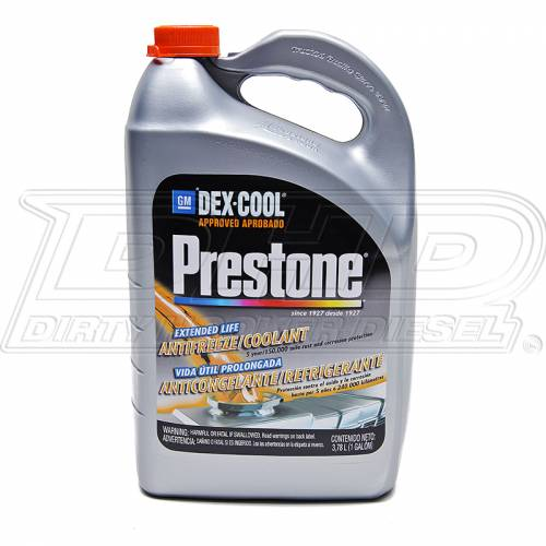 Prestone - Prestone AF850 GM Dex-Cool 50/50 Prediluted Extended Life Antifreeze Coolant