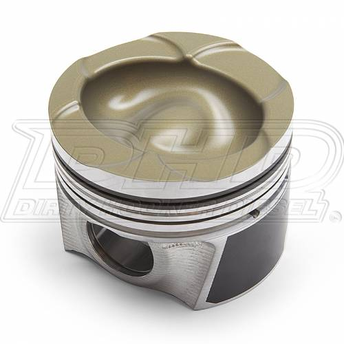 Fingers - Fingers FOBCP Oval Bowl Duramax Diesel Cast Race Piston Set
