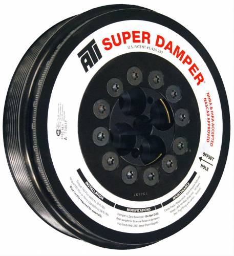 ATI Racing - ATI 918888 Super Damper Ford Powerstroke 6.0L