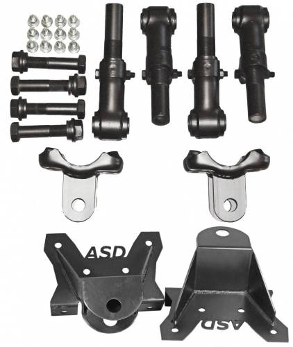Dirty Hooker Diesel - DHD 600-658 Universal Traction Bar Install Kit