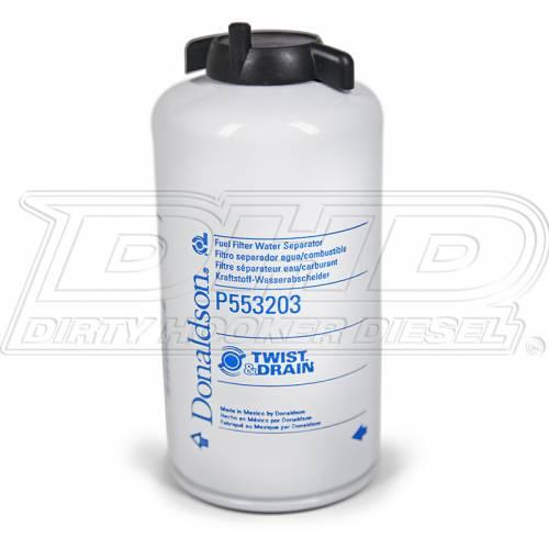 Donaldson - Donaldson P553203 3 Micron Fuel Filter Short Style (FASS Titanium Replacement Fuel Filter)