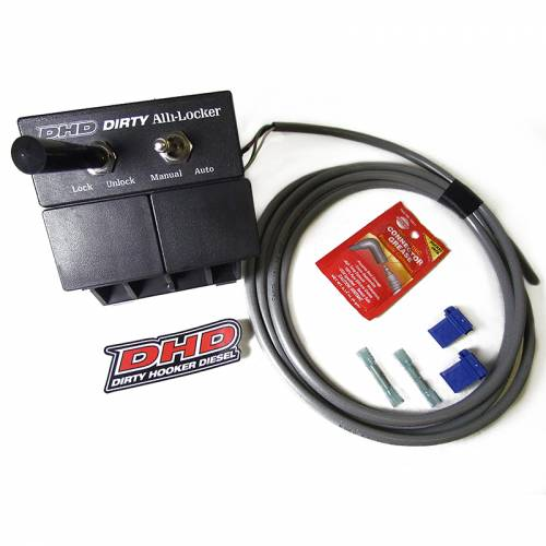 Dirty Hooker Diesel - DHD 116-610 Dirty Alli-Locker 6-Speed Torque Converter Lockup Switch