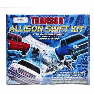 Transmission - Valve Body & Electrical - TransGo - TransGo Allison-SK Allison Shift Kit 2001-2005 5-Speed Models Only