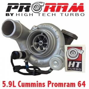 High Tech Turbo - Dodge 2003-2007 HTT PRORAM 64 TURBO UPGRADE STAGE 2