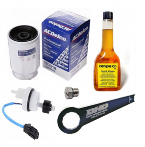 Fuel System - Fuel System Component Parts - Dirty Hooker Diesel - DHD 700-950 Ultimate Duramax Fuel Maintenance Kit 2001-2011