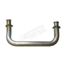 "Exhaust System - Exhaust Accessories - Flo Pro - Flo Pro 19410 GM 94-99 2.5"" Crossover Pipe Aluminized"