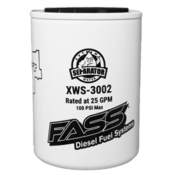 Filters - Fuel Filters - Fass - Fass XWS-3002 Extreme Water Separator Filter 2 Micron (Titanium Series)