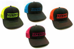 DHD Apparel - Hats - Dirty Hooker Diesel - 061-099 DHD Neon Baseball Hat