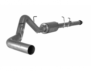 "Exhaust Systems - 4"" Exhaust Kits - Flo Pro - Flo Pro 865 Ford 11-13 4"" Cat Back System WM NB Aluminized"