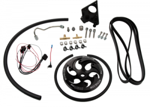 Fuel System - Fuel Injection Pump - WCFAB - 2001-2004 LB7 Duramax Twin CP3 Kit with Black Anodized Pulley