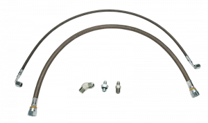 Twin Turbo Kits  - Hardware - WCFAB - WCF100378 Oil Line Kit- Twin Turbo- S400 Duramax