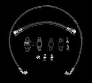 WCFAB - WCF100382 Oil Line Kit- Single Turbo- Duramax