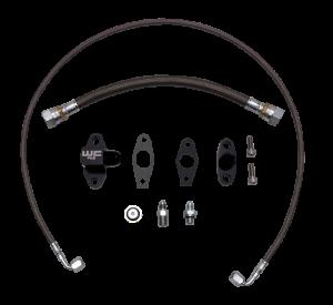 WCFAB - WCF100383 Oil Line Kit- Single Turbo- Duramax LML