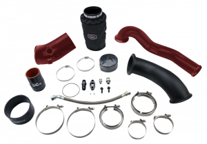 Twin Turbo Kits  - S400 KITS - WCFAB - WCF100487 Single Install Kit- S400 6.7 Cummins