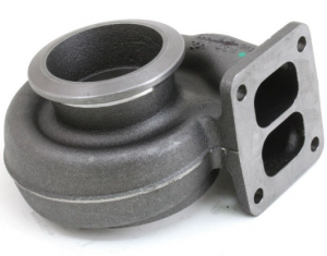 Turbochargers - Borg Warner - BORGWARNER, 177209, S300SX 1.00 A/R T4 76/68MM TWIN FLOW TURBINE HOUSING