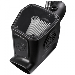 Air Intake - Cold Air Intakes - S&B Filters - S&B 75-5105D Cold Air Intake (Dry Filter) 08-10 Ford 6.4L Powerstroke