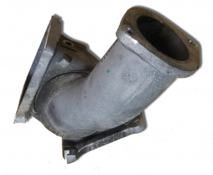 Air Intake - High Flow Intake Manifold/ Y-Bridge/ Elbows - GM - GM 97306382-U Used LLY Duramax OEM Y-Bridge 97305297