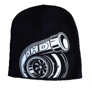 DHD Apparel - Hats - Dirty Hooker Diesel - DHD 061-103 Turbo Beanie Hat