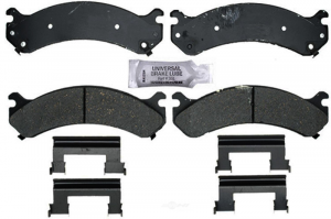 Brakes & Braking System - Pads & Calipers - AC Delco - ACDelco 17D784CH Ceramic Front Brake Pad Set 01-10 2500/3500