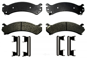 Brakes & Braking System - Pads & Calipers - AC Delco - ACDelco 17D784MH Semi-Metallic Front Brake Pad Set 01-10 2500/3500