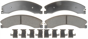 AC Delco - ACDelco 17D1411MH Semi-Metallic Front/Rear Brake Pad Set 11-19 2500/3500
