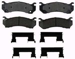 Brakes & Braking System - Pads & Calipers - AC Delco - ACDelco 17D785CH Ceramic Rear Brake Pad Set 01-10 SRW 2500/3500