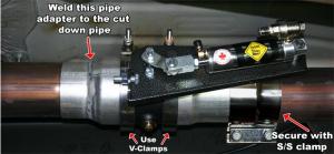 """BD Diesel - BD 1024310 Duramax 3.5"""" Exhaust Brake Kit 2001-2010 LB7 LLY LBZ LMM - Image 2"""
